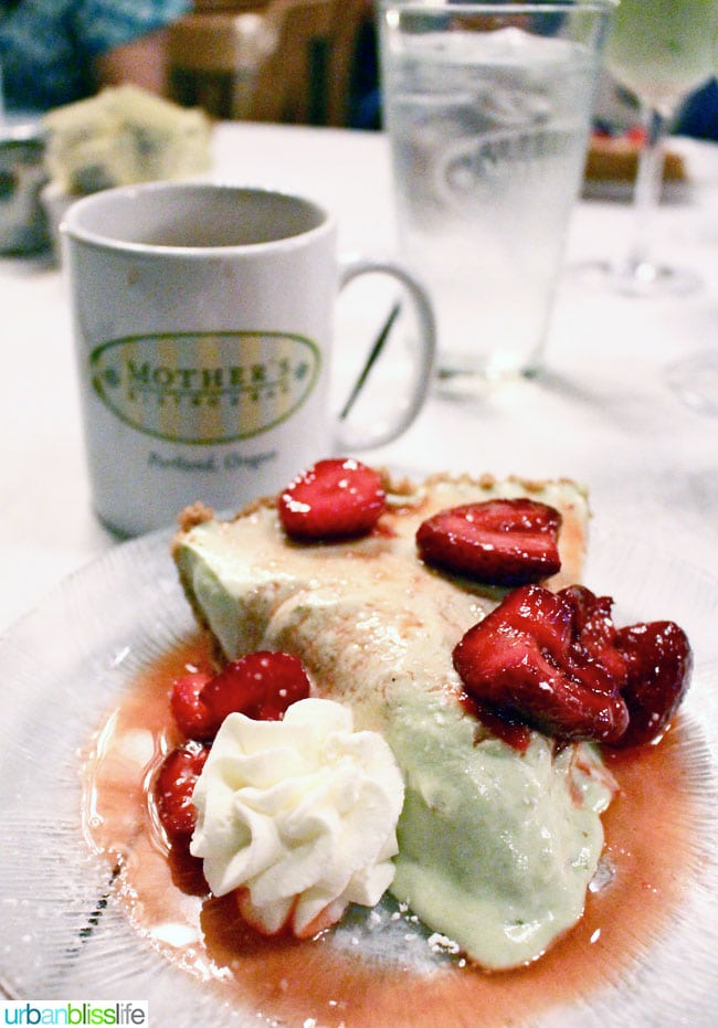 Avocado Lime Pie with Oregon Strawberries