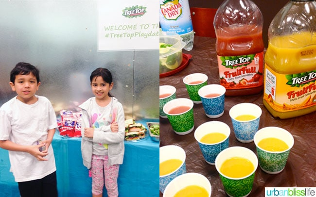 #TreeTopPlaydate Kids FruitFull Juice