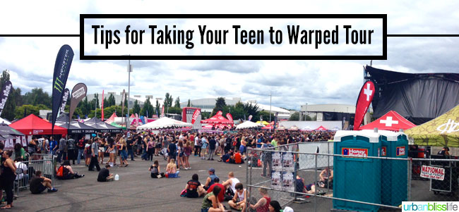 Tips for Taking Your Teen to Warped Tour