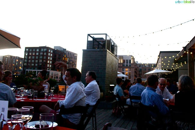 Oregon Berry Fest Gala Rooftop Night