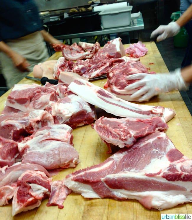 Camas Davis Butchery class at Feast PDX 2013