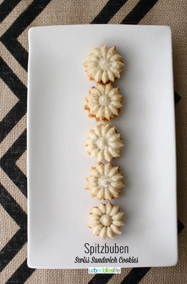 Spitzbuben: Swiss Sandwich Cookies