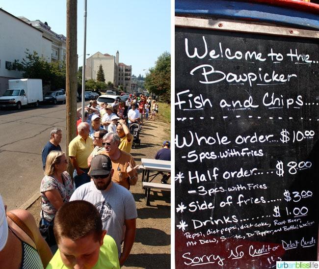 Bowpicker Fish & Chips // Family Travel to Astoria, Oregon