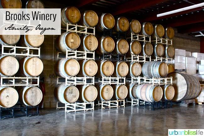 Brooks Winery Oregon