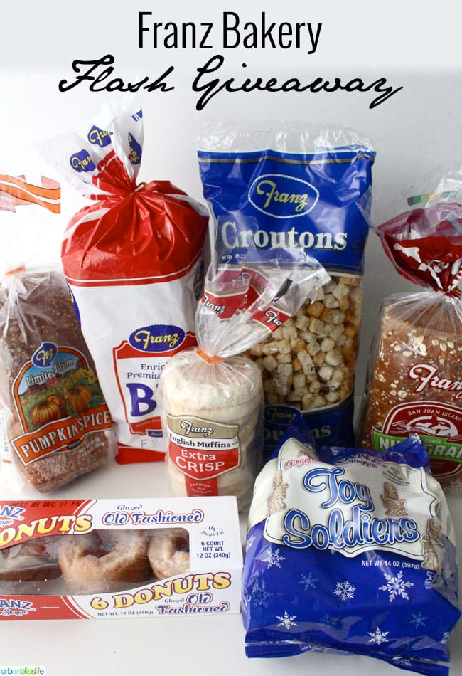 Franz Bakery giveaway