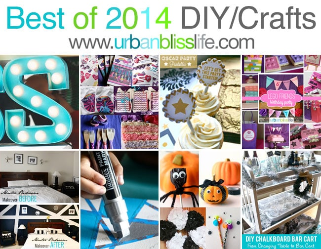 Best of 2014 DIY + Crafts