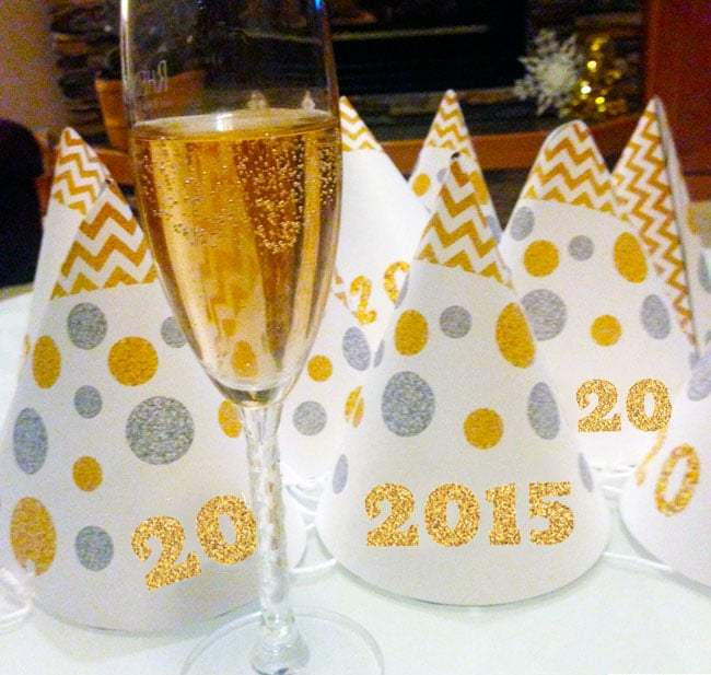 2015 New Year's Eve Party Hats