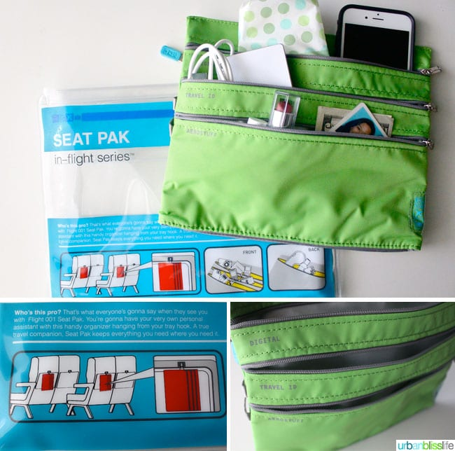 extended stay travel essential: seat pak