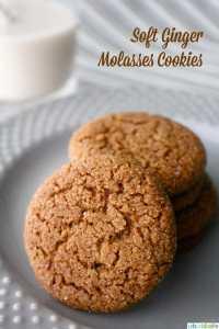 Ginger Molasses Cookies recipe
