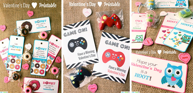 Valentines Day printable cards by UrbanBliss.BigCartel.com