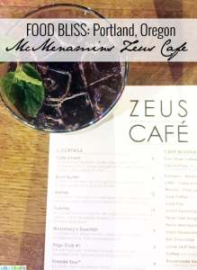 McMenamins Zeus Cafe Portland Oregon