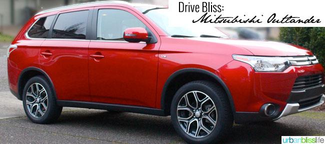 Drive Bliss: Mitsubishi Outlander Review