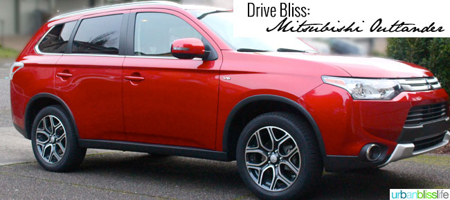 Drive Bliss: Mitsubishi Outlander Review