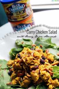 Blue Diamond Honey Dijon Curry Chicken Salad