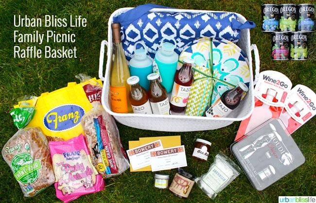 Chevy Shop Social UrbanBlissLife.com Family Picnic Basket