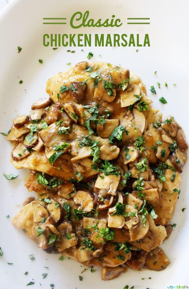 Classic Chicken Marsala Recipe