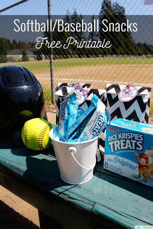 Being Snack Mom with Kellogg's® Rice Krispies Treats® Plus a Free Sports Printable