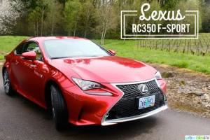 Lexus RC350 F-Sport car review