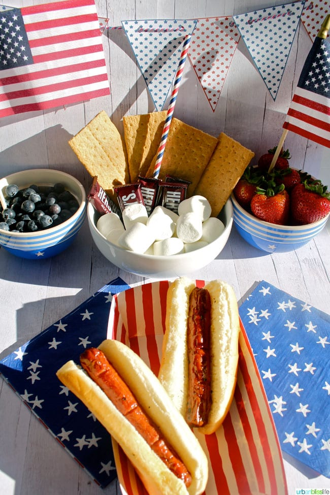 Easy 4th of July BBQ Ideas on UrbanBlissLife.com