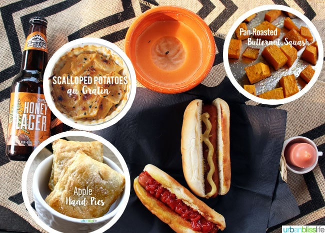 Fall Grilling Hot Dogs and Side Dishes on UrbanBlissLife.com
