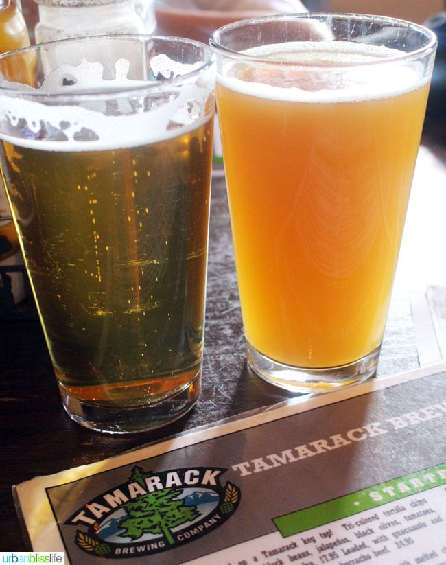 Where to Eat & Drink in Missoula, Montana: Tamarack Brewing on UrbanBlissLife.com