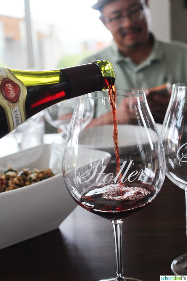 Stoller Family Estate Vineyard wine on UrbanBlissLife.com