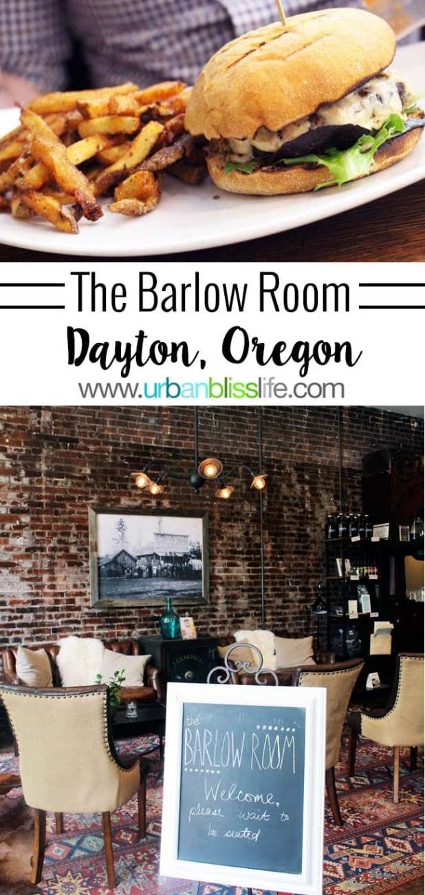 Food Bliss: The Barlow Room in Dayton, Oregon