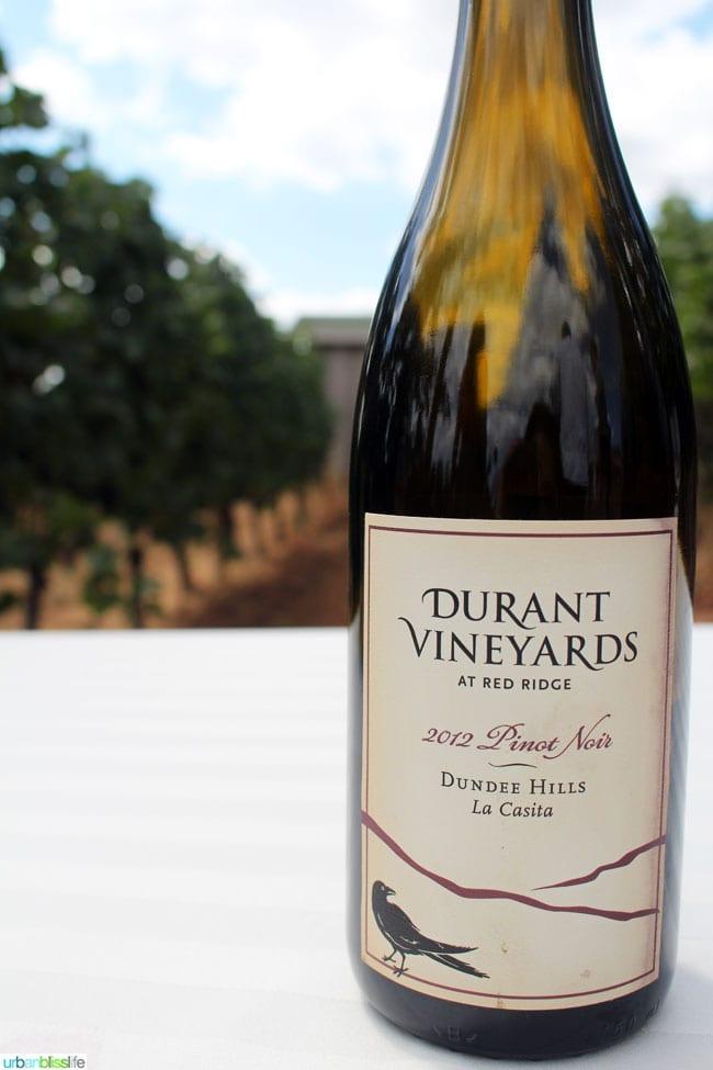 Durant Vineyards wine bliss on UrbanBlissLife.com