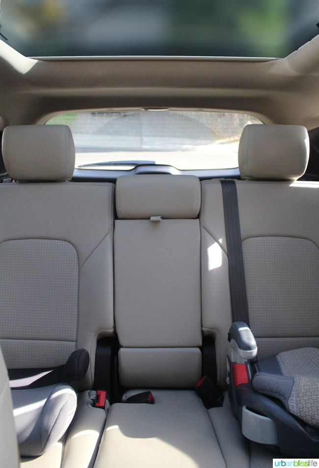 Hyundai Tucson car review on UrbanBlissLife.com
