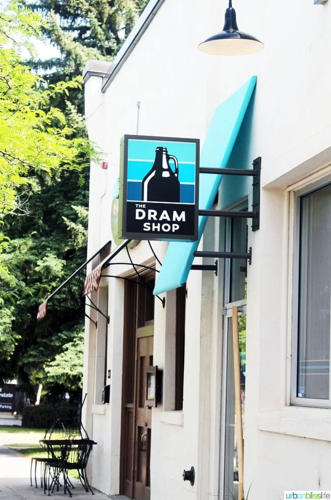 Where to Eat & Drink in Missoula, Montana: Dram Shop beer, at UrbanBlissLife.com