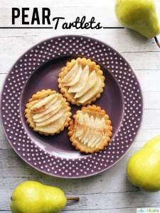 Pear Tartlet recipe & Giveaway on UrbanBlissLife.com