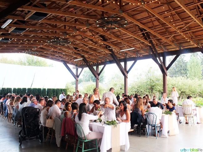 Cultivate 2015 Farm-to-Table Dinner in British Columbia. Travel bliss on UrbanBlissLife.com
