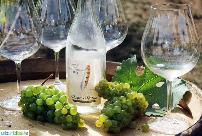 Raptor Ridge Winery Grüner Veltliner- Oregon Wine Country - UrbanBlissLife.com