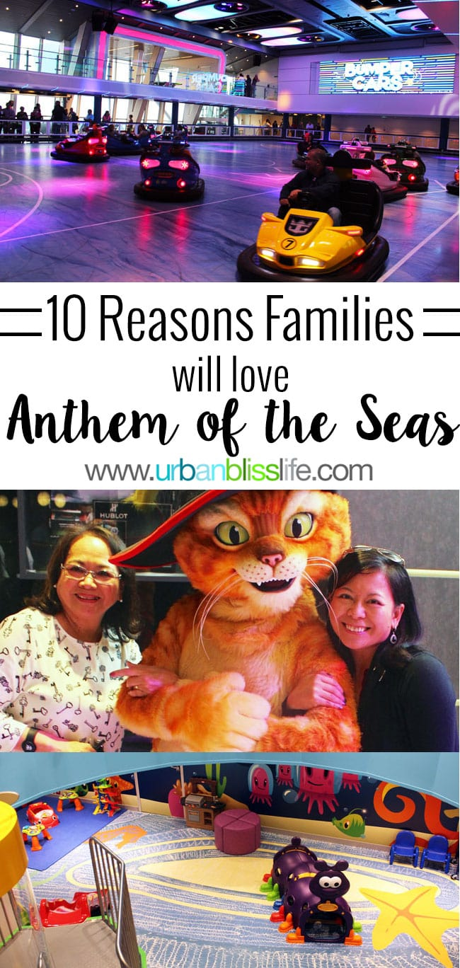 10 Reasons Families Will Love Anthem Of The Seas on UrbanBlissLife.com