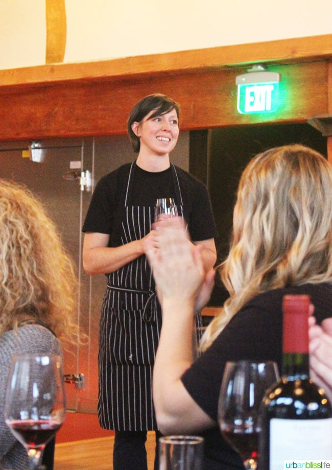 Malbec Mushrooms Chef Carrie Merrill on UrbanBlissLife.com