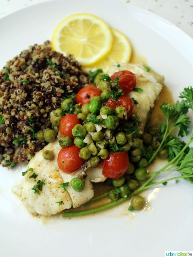 Food Bliss: Easy and Elegant Poached Wild Alaskan Halibut