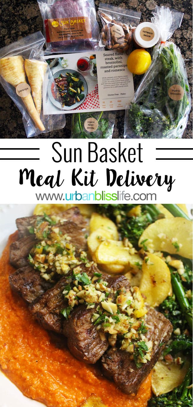 Sun Basket Healthy Meal Kit Delivery Review & Giveaway on UrbanBlissLife.com