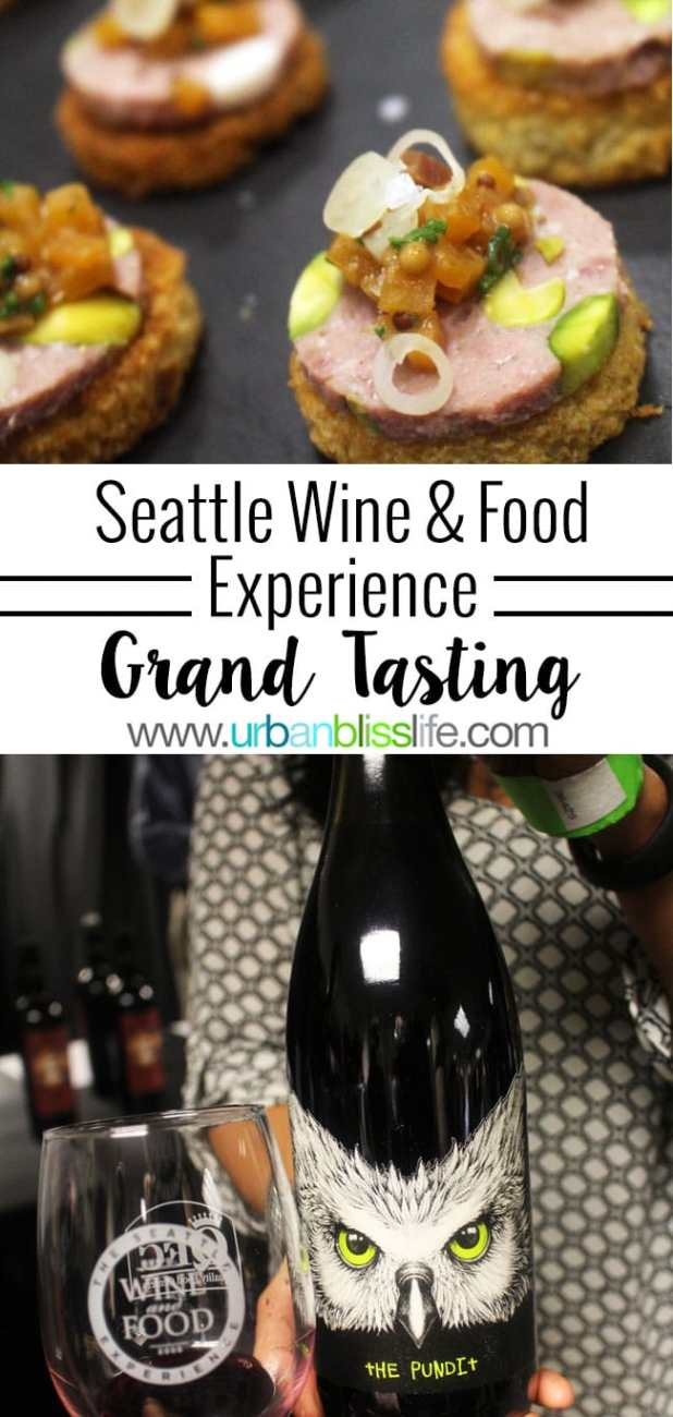 Wine Bliss: Seattle Wine & Food Experience Grand Tasting