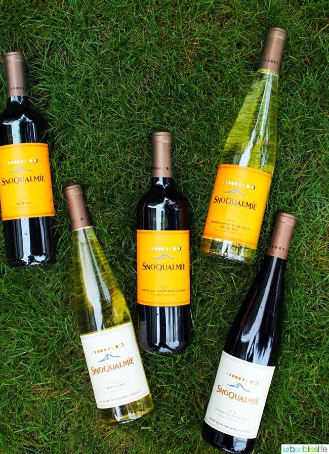 Snoqualmie Spring 2016 Wines