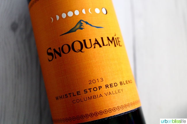 Snoqualmie Whistle Stop Red