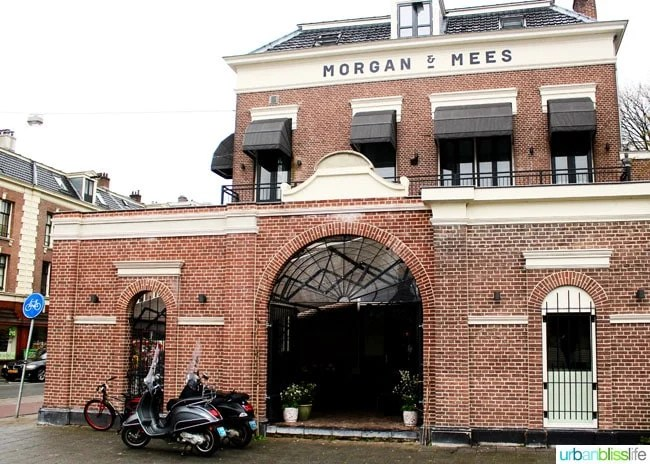 Where to Stay in Amsterdam. Morgan and Mees hotel, review on UrbanBlissLife.com