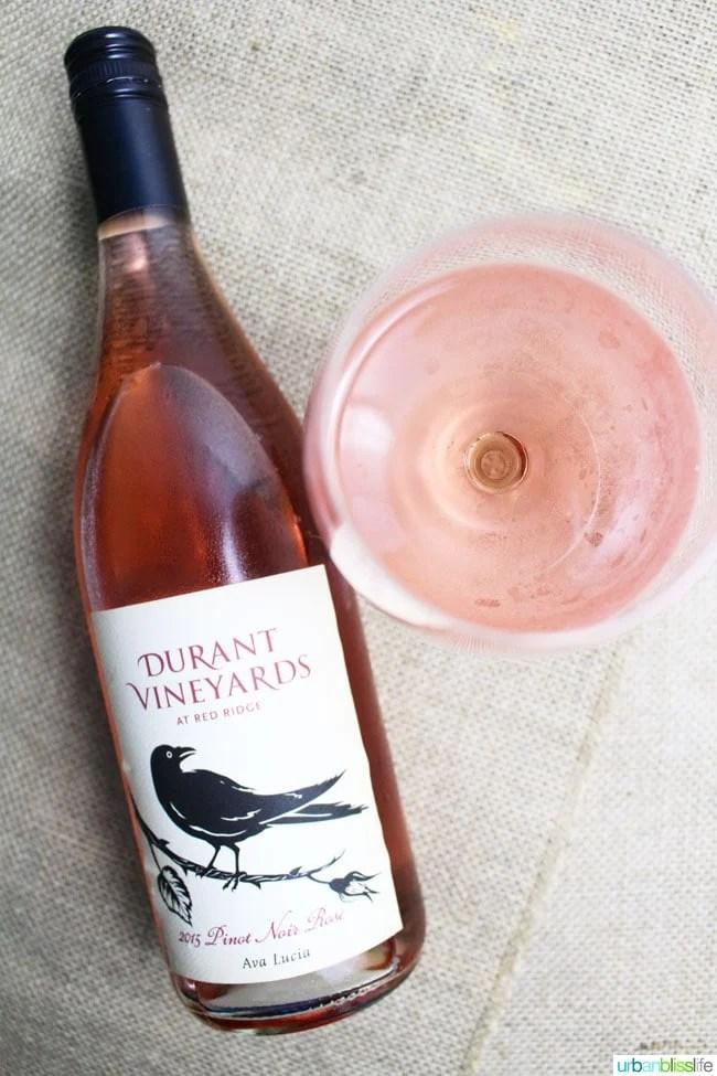 National Drink Rosé Day pick: Durant Vineyard Rose