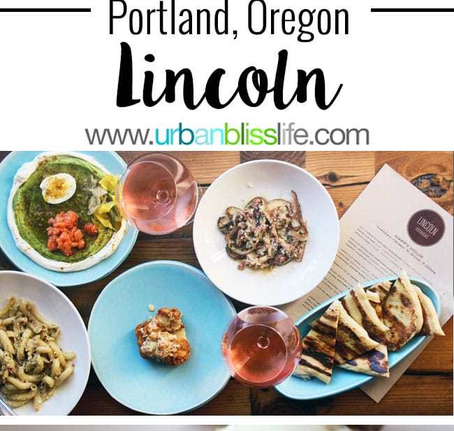 Lincoln restaurant happy hour in Portland, Oregon. Happy Hour Menu and Photos on UrbanBlissLife.com