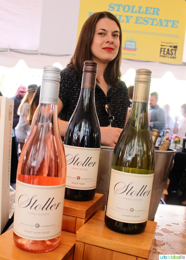 wonderful wines at Feast Portland 2016, on UrbanBlissLife.com