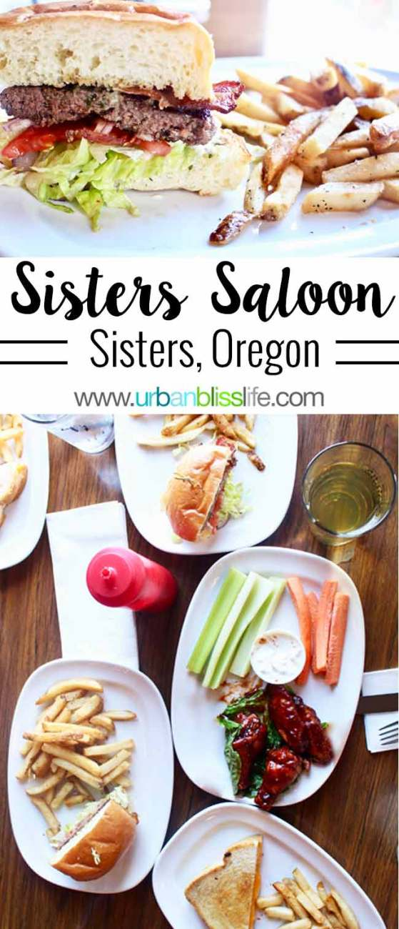 CULINARY TRAVEL BLISS: Sisters Saloon in Sisters, Oregon