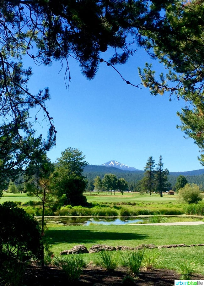 Sunriver Resort in Bend, Oregon family travel review on http://UrbanBlissLife.com