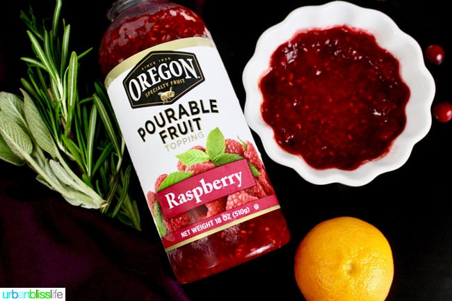 Cranberry Raspberry Orange Glaze Game Hens recipe & giveaway on UrbanBlissLife.com