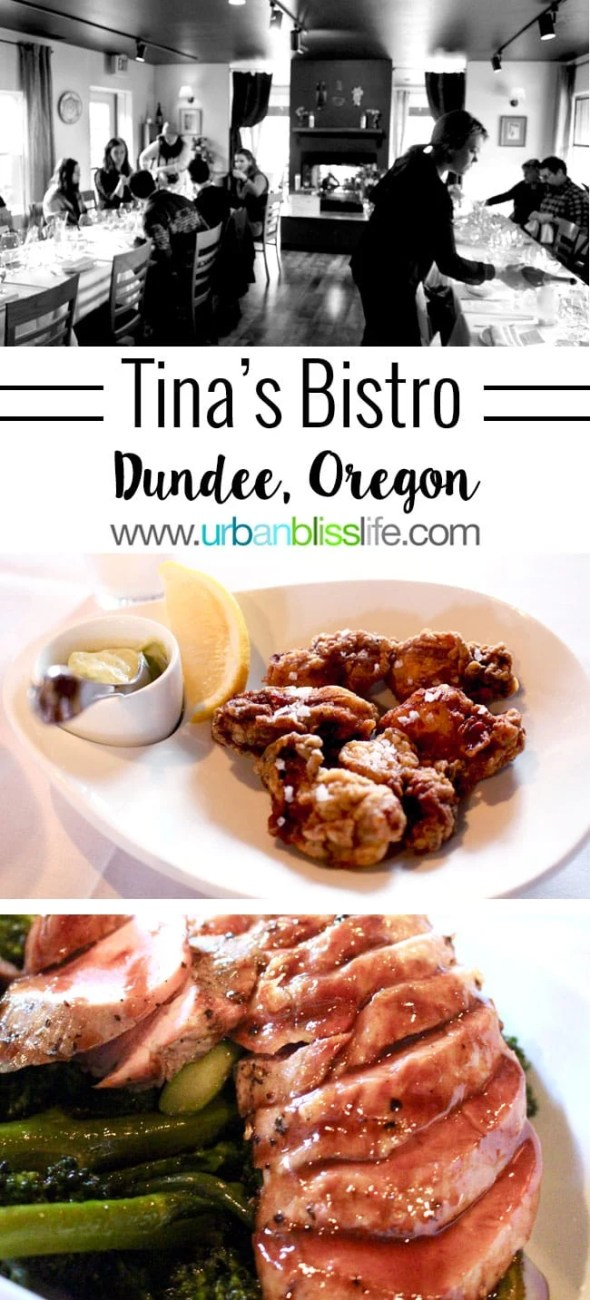 Food Bliss: Tina's Restaurant, an Original Oregon Wine Country Dining Experience