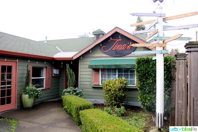Tina's Bistro in Dundee, Oregon. Restaurant review on UrbanBlissLife.com