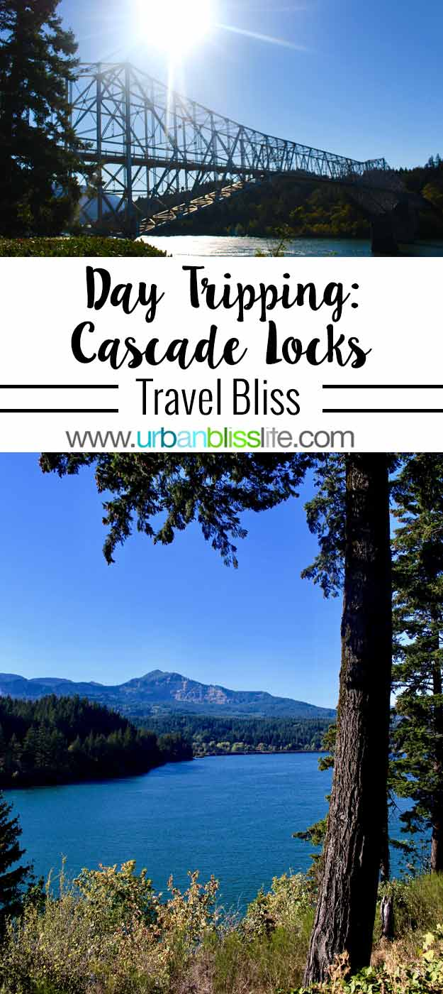 Day Trip to Cascade Locks Columbia River Gorge in Oregon. Travel tips on UrbanBlissLife.com